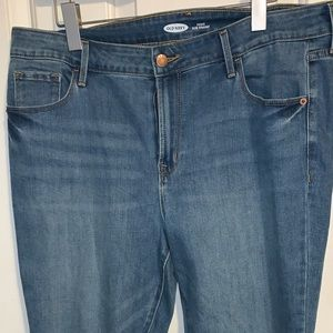 Old navy jeans: Power Slim Straight